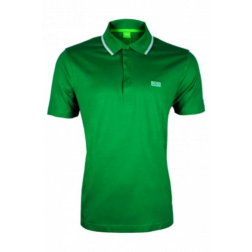 Hugo Boss Green galléros póló